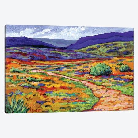 New Mexico Landscape Canvas Print #PTB84} by Patty Baker Canvas Art