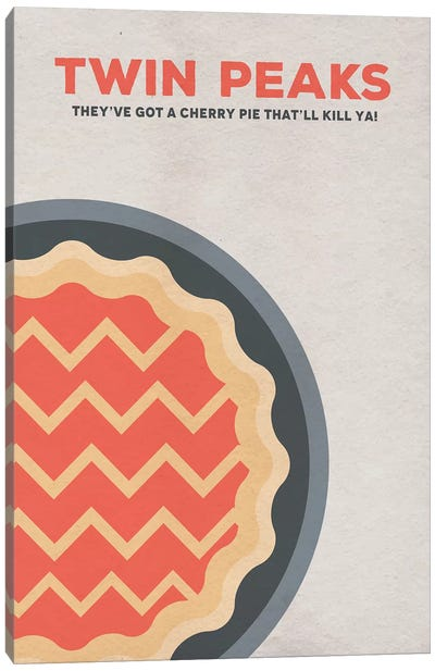 Twin Peaks Alternative Poster Canvas Art Print