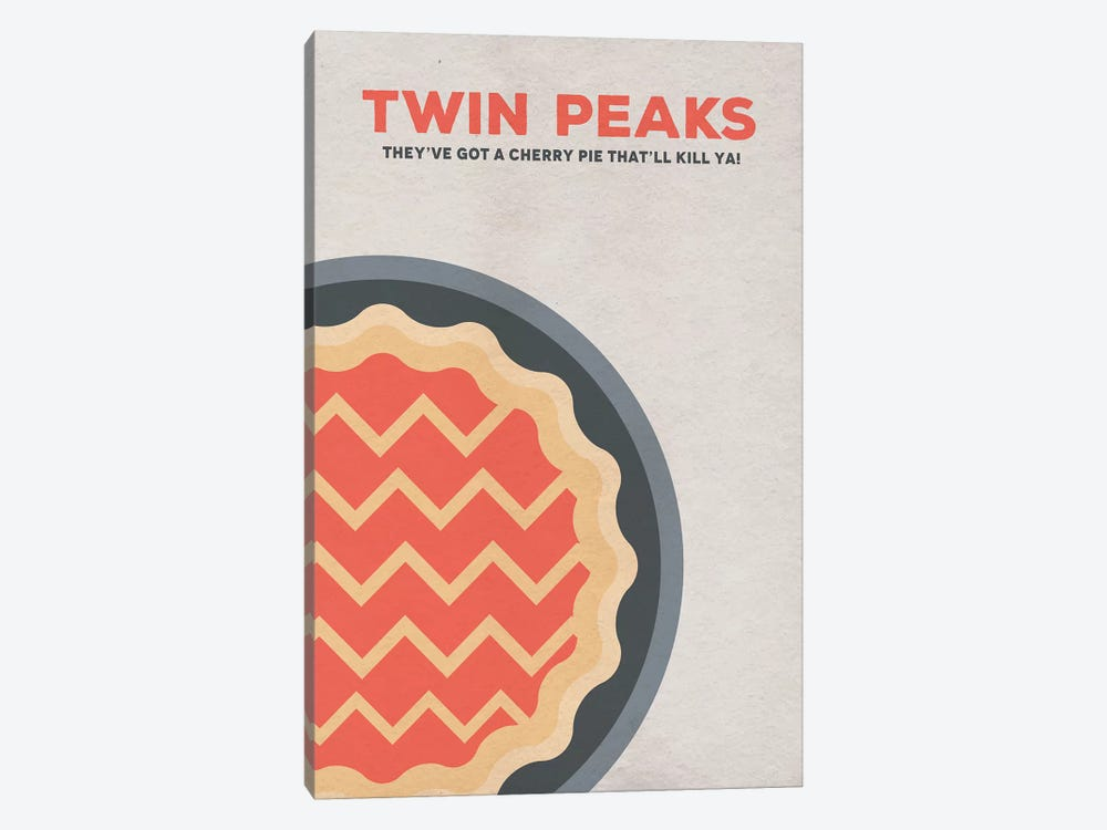 Twin Peaks Alternative Poster by Popate 1-piece Canvas Wall Art