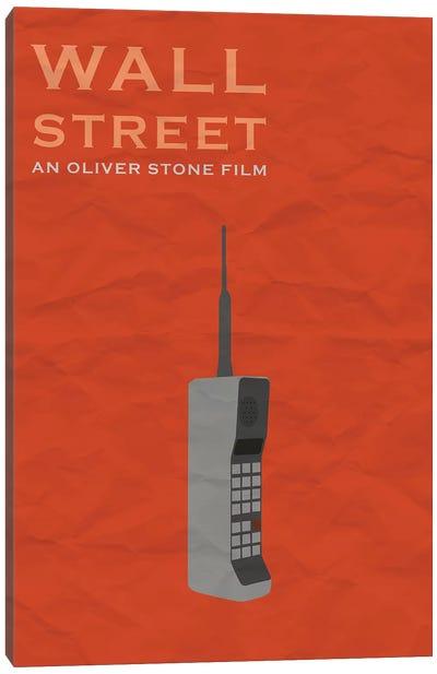 Wall Street Minimalist Poster Canvas Art Print