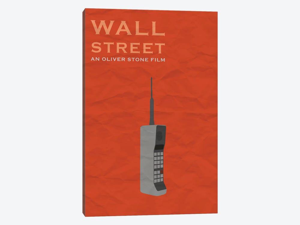 Wall Street Minimalist Poster by Popate 1-piece Art Print