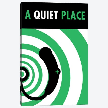 A Quiet Place Minimalist Poster I Canvas Print #PTE110} by Popate Canvas Wall Art