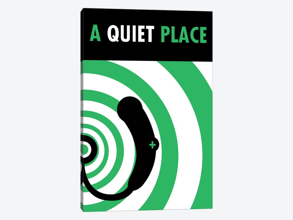A Quiet Place Minimalist Poster I by Popate 1-piece Canvas Art
