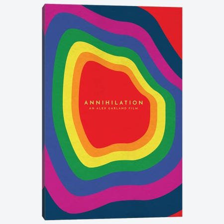 Annihilation Alternative Poster Canvas Print #PTE113} by Popate Canvas Art