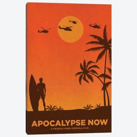 Apocalypse Now Alternative Poster Canvas Print #PTE114} by Popate Canvas Print