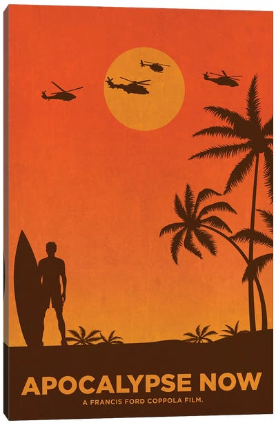 Apocalypse Now Alternative Poster Canvas Art Print