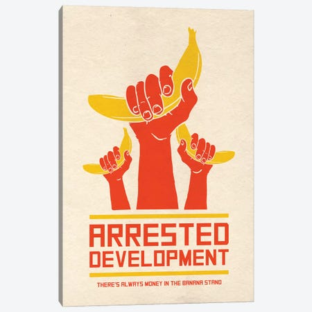 Arrested Development Alternative Poster Canvas Print #PTE115} by Popate Art Print