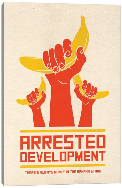 Arrested Development Alternative Poster Canvas Art Print
