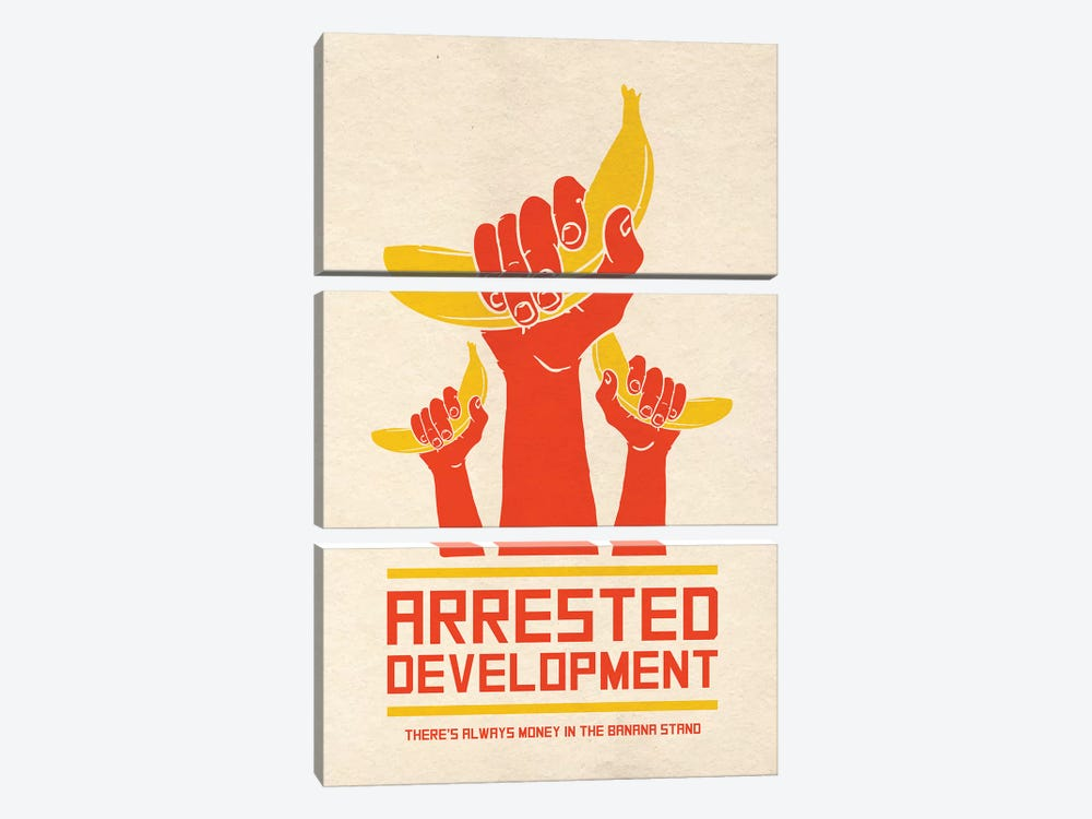Arrested Development Alternative Poster by Popate 3-piece Art Print