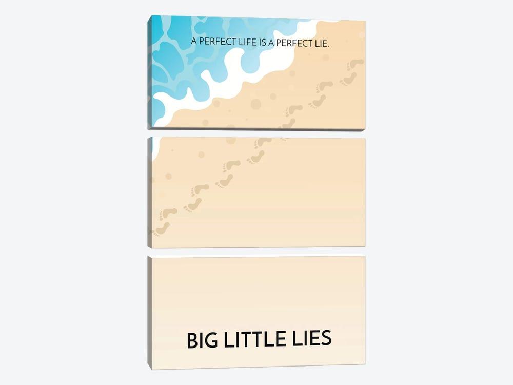 Big Little Lies Alternative Poster by Popate 3-piece Canvas Art