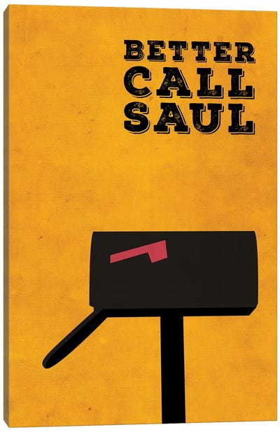 Better Call Saul Minimalist Poster Canvas Art Print