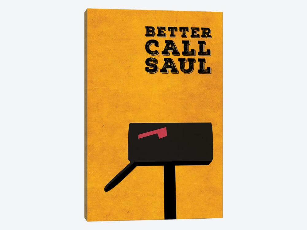 Better Call Saul Minimalist Poster by Popate 1-piece Canvas Art