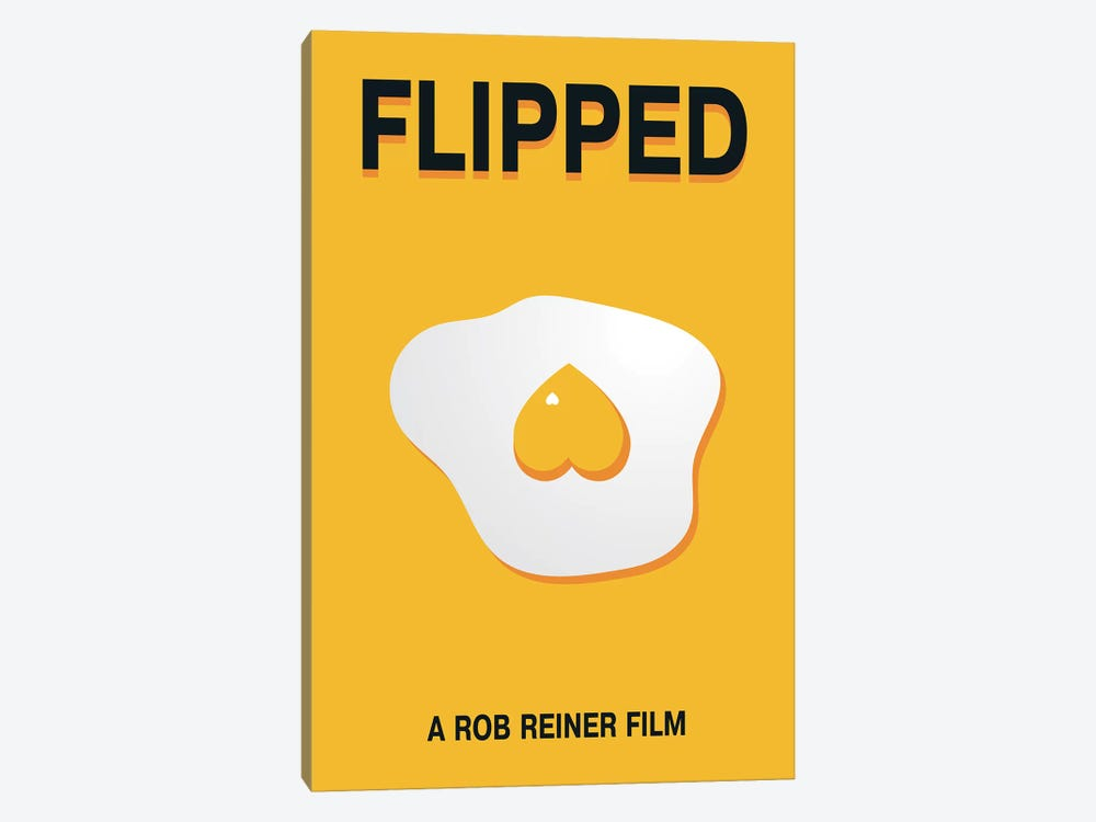 Flipped Minimalist Poster by Popate 1-piece Canvas Art