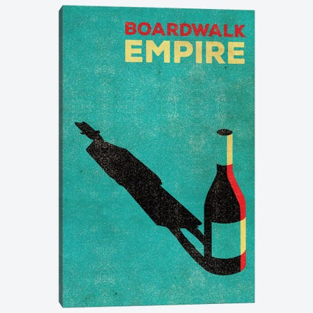 Boardwalk Empire Alternative Poster Canvas Print #PTE12} by Popate Canvas Print