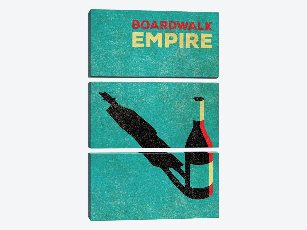 Boardwalk Empire Alternative Poster by Popate 3-piece Art Print