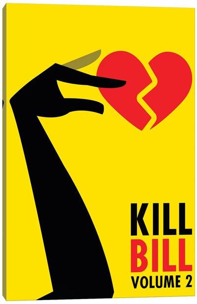 Kill Bill Volume 2 Minimalist Poster Canvas Art Print