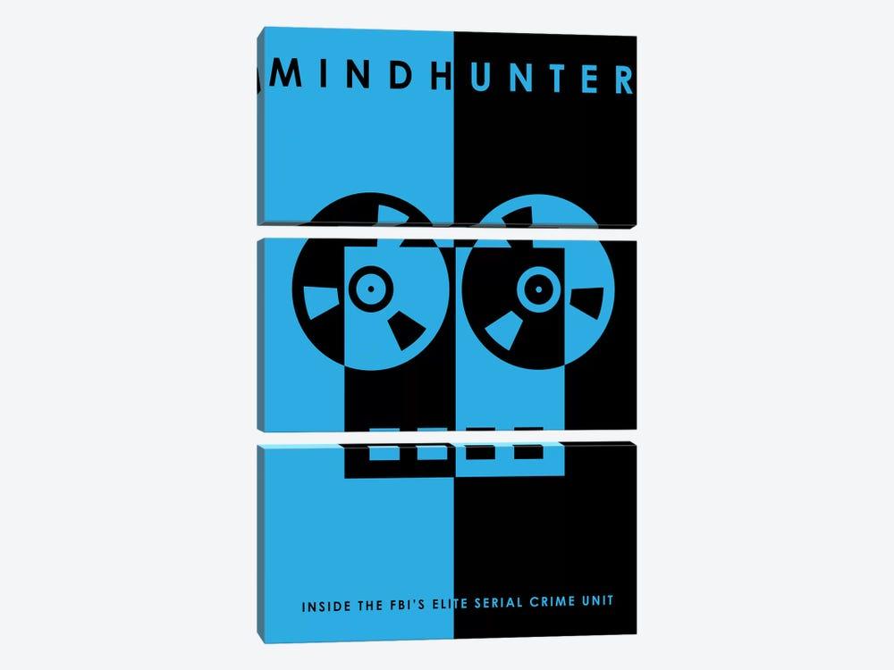 Mindhunter Minimalist Poster by Popate 3-piece Art Print