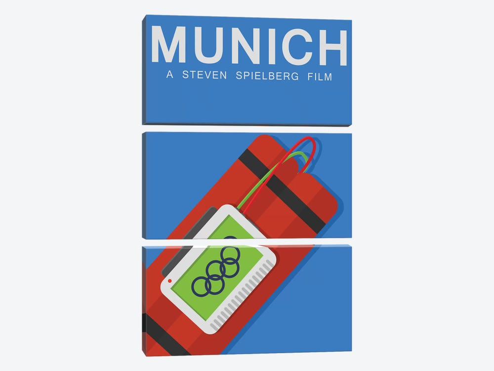 Munich Alternative Poster by Popate 3-piece Art Print