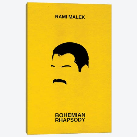 Bohemian Rhapsody Minimalist Poster Canvas Print #PTE13} by Popate Canvas Art Print