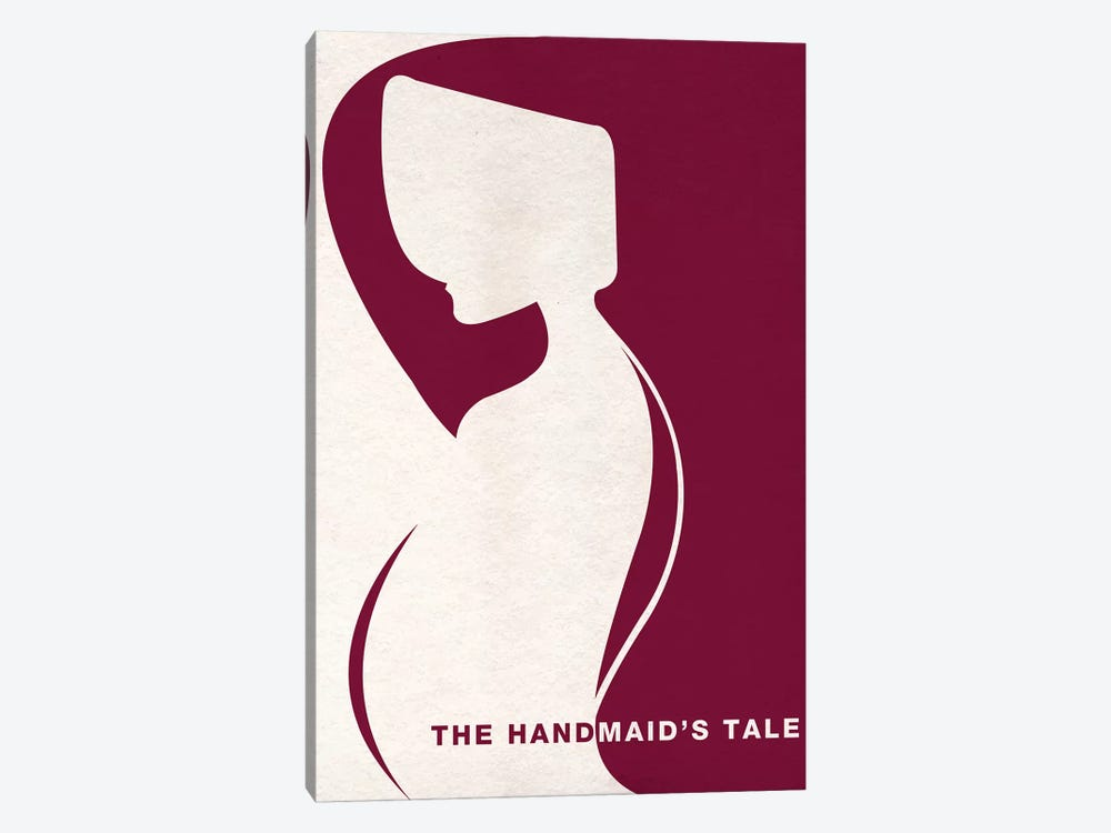 The Handmaid's Tale Minimalist Poster by Popate 1-piece Canvas Art Print
