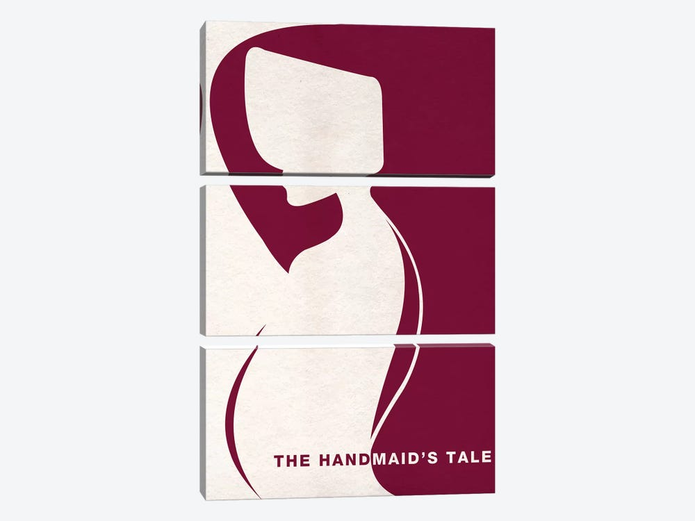 The Handmaid's Tale Minimalist Poster by Popate 3-piece Canvas Art Print