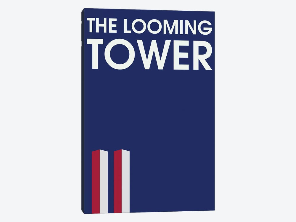 The Looming Tower Minimalist Poster by Popate 1-piece Art Print