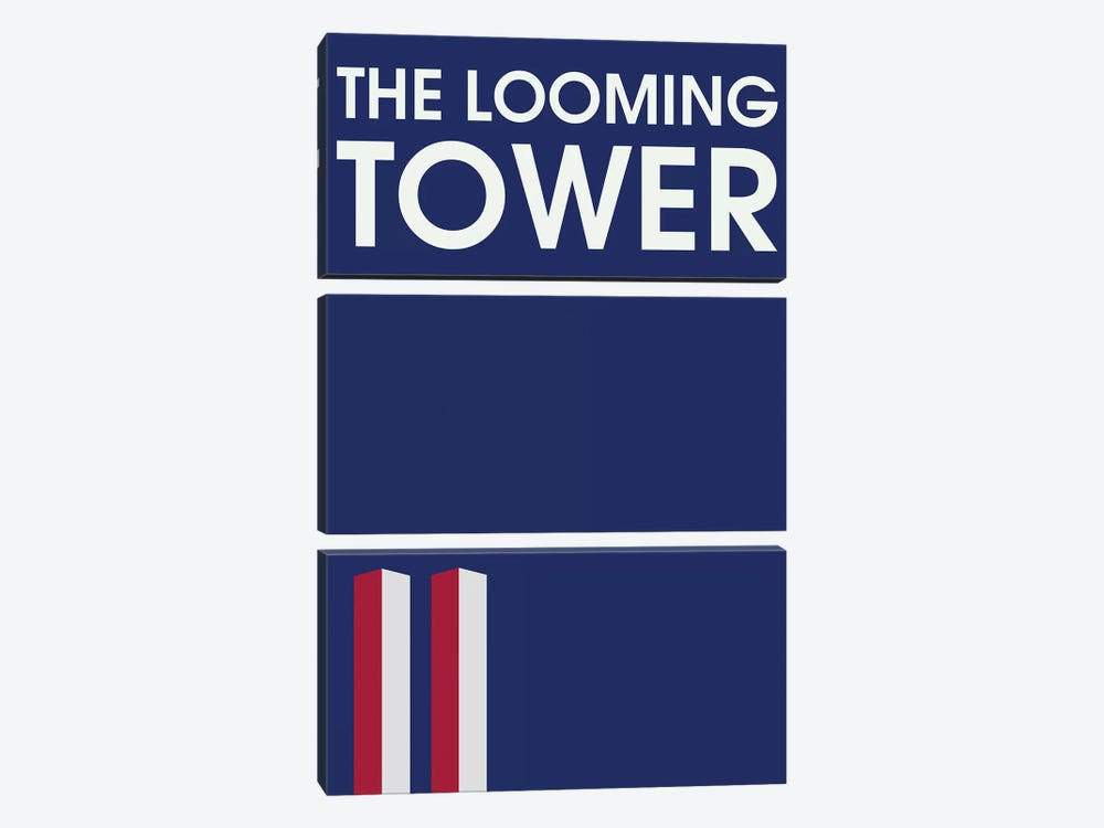 The Looming Tower Minimalist Poster 3-piece Canvas Art Print