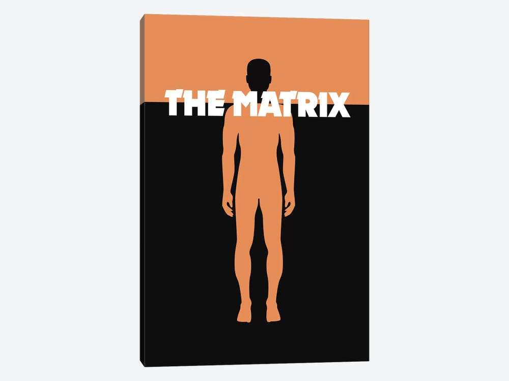 The Matrix Minimalist Poster by Popate 1-piece Canvas Wall Art