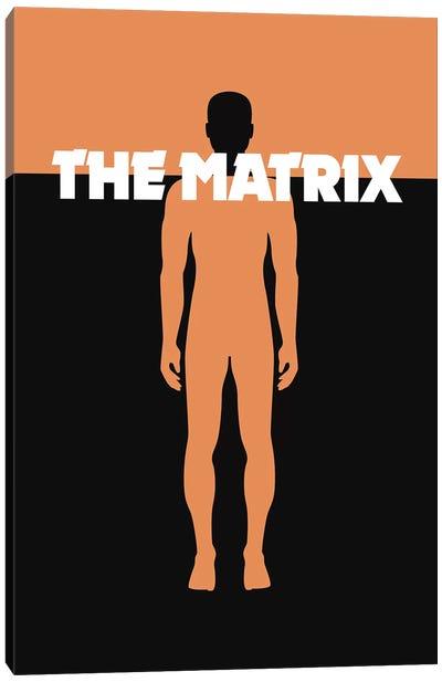 The Matrix Minimalist Poster Canvas Art Print