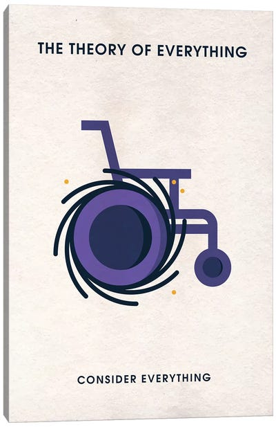 The Theory Of Everything Minimalist Poster Canvas Art Print