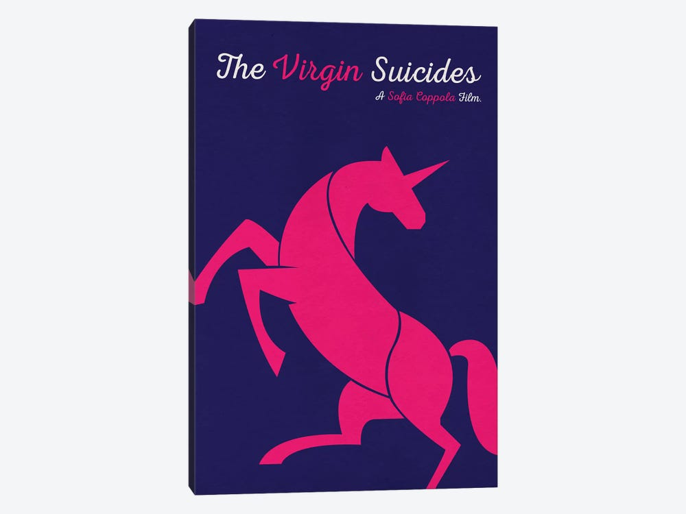 The Virgin Suicides Minimalist Poster by Popate 1-piece Canvas Artwork