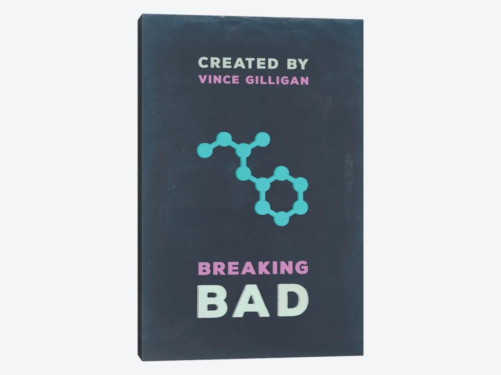 Breaking Bad Minimalist Poster I by Popate 1-piece Art Print