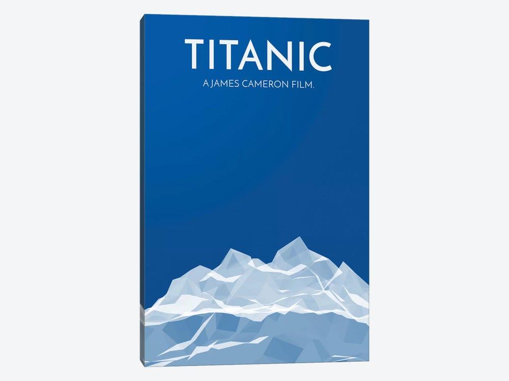 Titanic Alternative Poster by Popate 1-piece Canvas Artwork