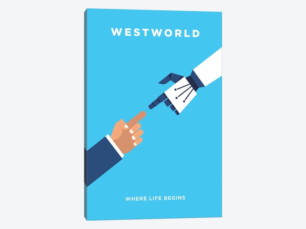 Westworld Minimalist Poster by Popate 1-piece Art Print