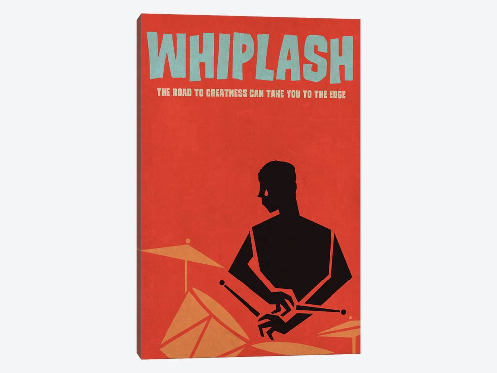 Whiplash Alternative Vintage Jazz Poster 1-piece Canvas Art