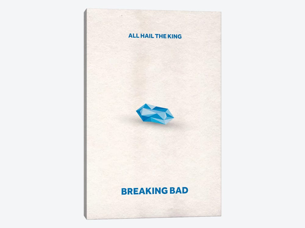 Breaking Bad Minimalist Poster II by Popate 1-piece Canvas Artwork