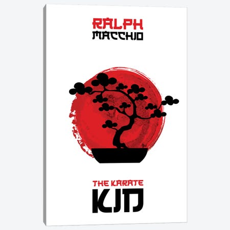 The Karate Kid Minimalist Poster Canvas Print #PTE163} by Popate Art Print