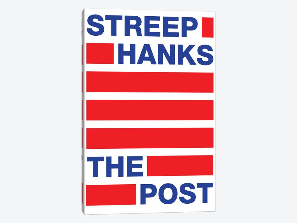 The Post Minimalist Poster II by Popate 1-piece Canvas Art