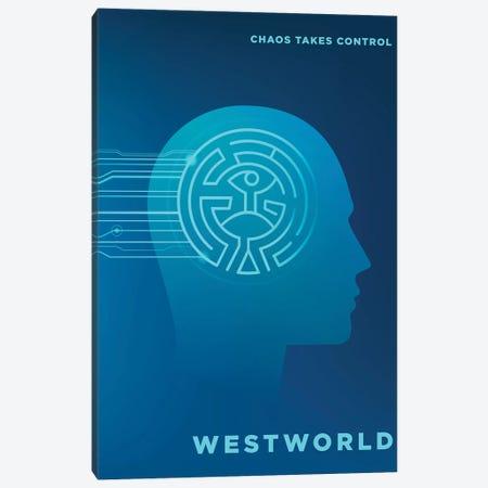 Westworld Alternative Poster 3-Piece Canvas #PTE168} by Popate Art Print