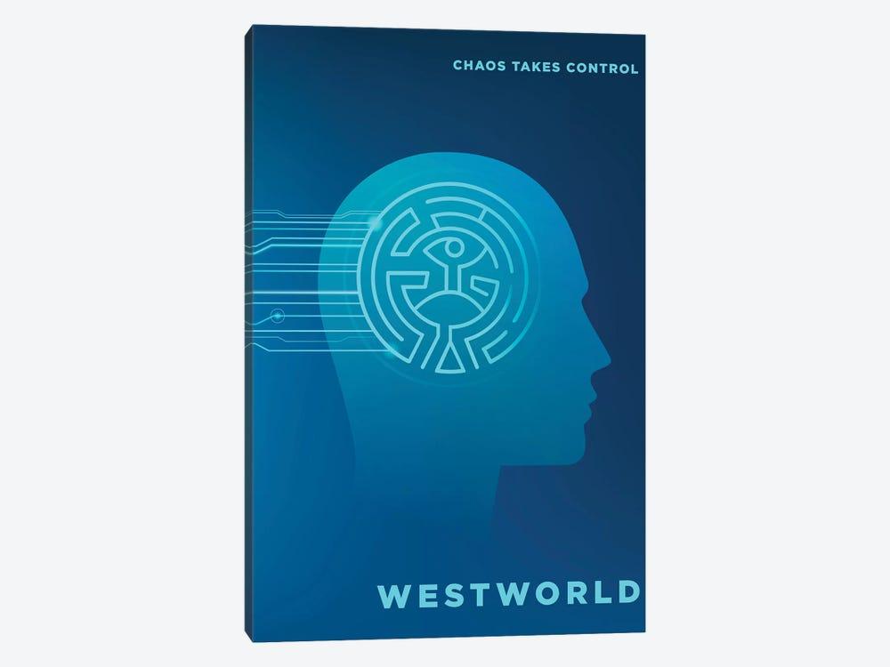 Westworld Alternative Poster by Popate 1-piece Art Print