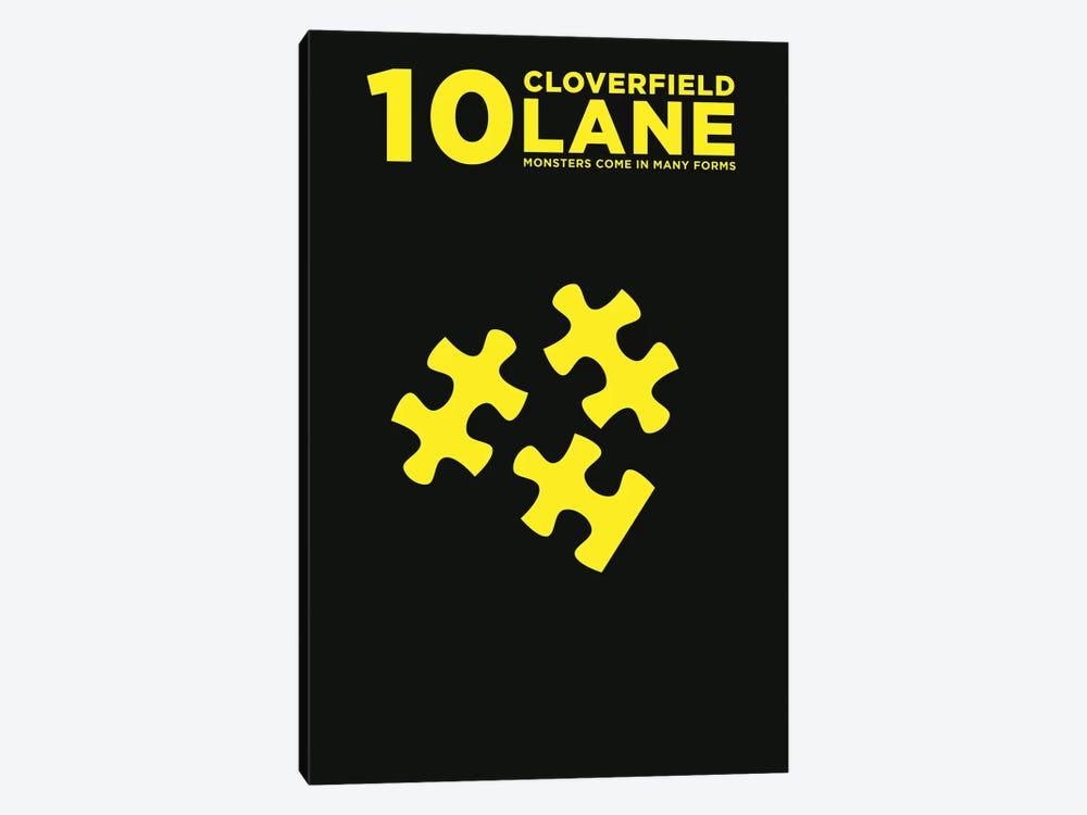 10 Cloverfield Lane Minimalist Poster  by Popate 1-piece Canvas Artwork