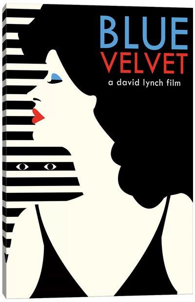 Blue Velvet Minimalist Poster - Dorothy  Canvas Art Print