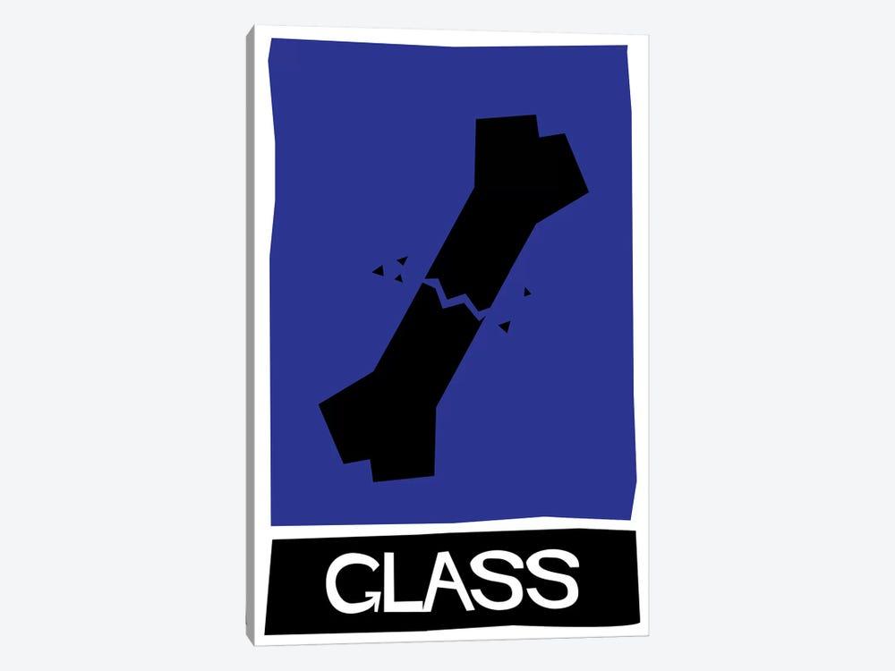 Glass Alternative Vintage Saul Bass Poster  by Popate 1-piece Canvas Print