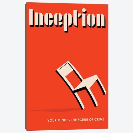 Inception Vintage Bauhaus Poster  Canvas Print #PTE184} by Popate Canvas Artwork
