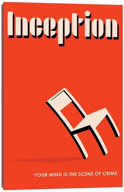 Inception Vintage Bauhaus Poster  Canvas Art Print