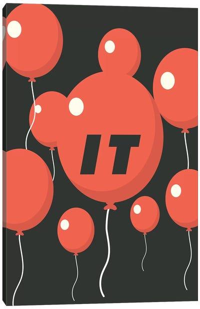 It Minimalist Poster - Balloon Float  Canvas Art Print