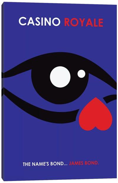 Casino Royale Minimalist Poster Canvas Art Print
