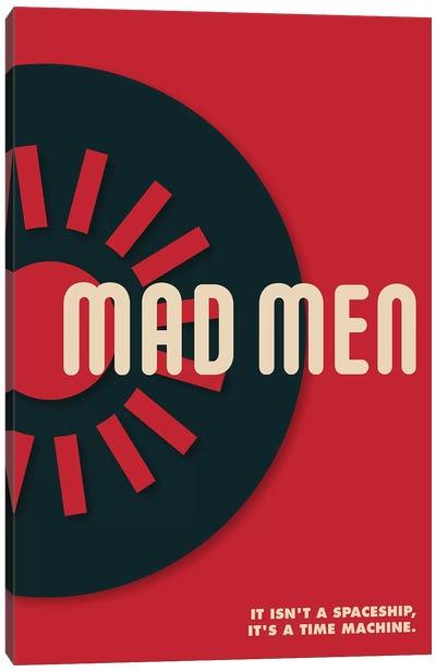 Mad Men Vintage Bauhaus Poster  Canvas Art Print