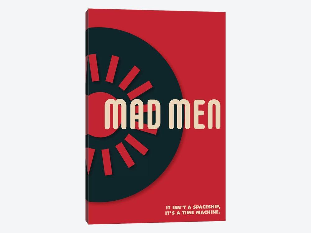Mad Men Vintage Bauhaus Poster  by Popate 1-piece Canvas Art Print