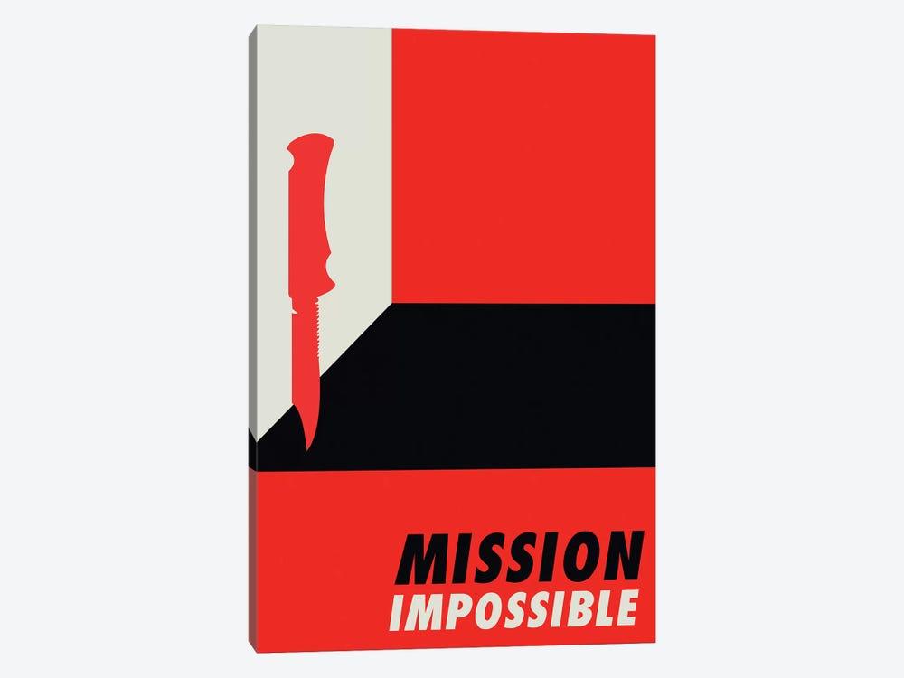 Mission Impossible Vintage Bauhaus Poster  by Popate 1-piece Canvas Artwork